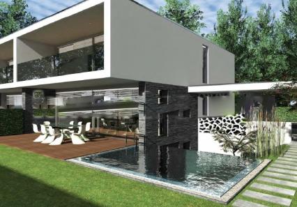 Construction de 3 villas jumelles à Cologny